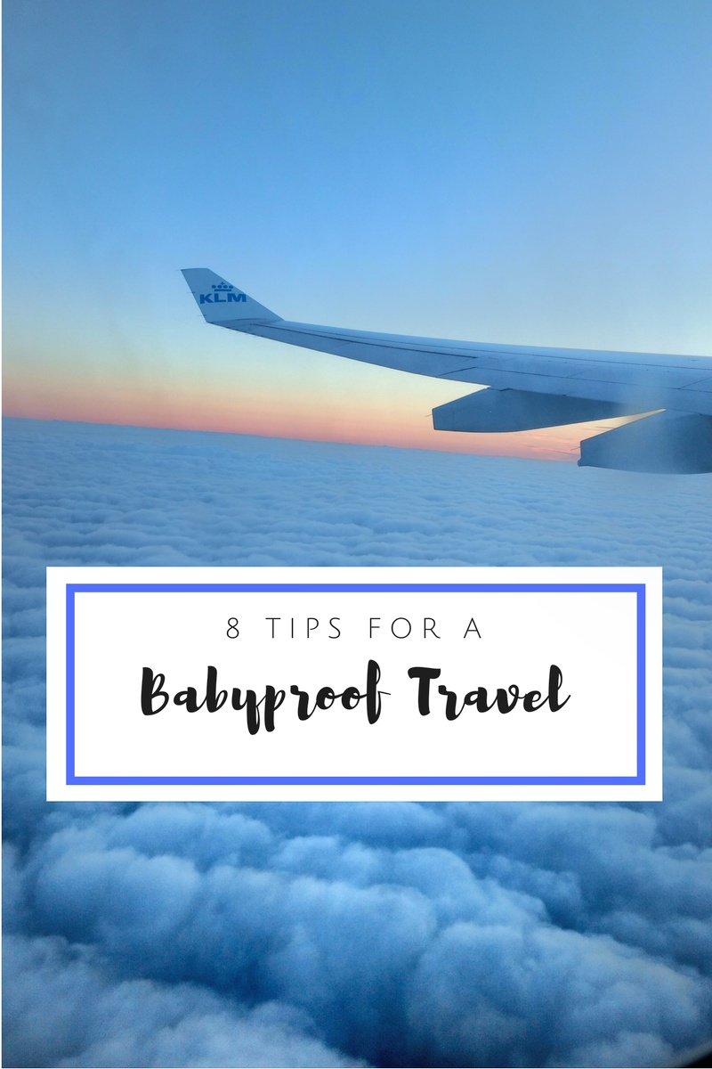 8 Tips for a Babyproof Air Travel