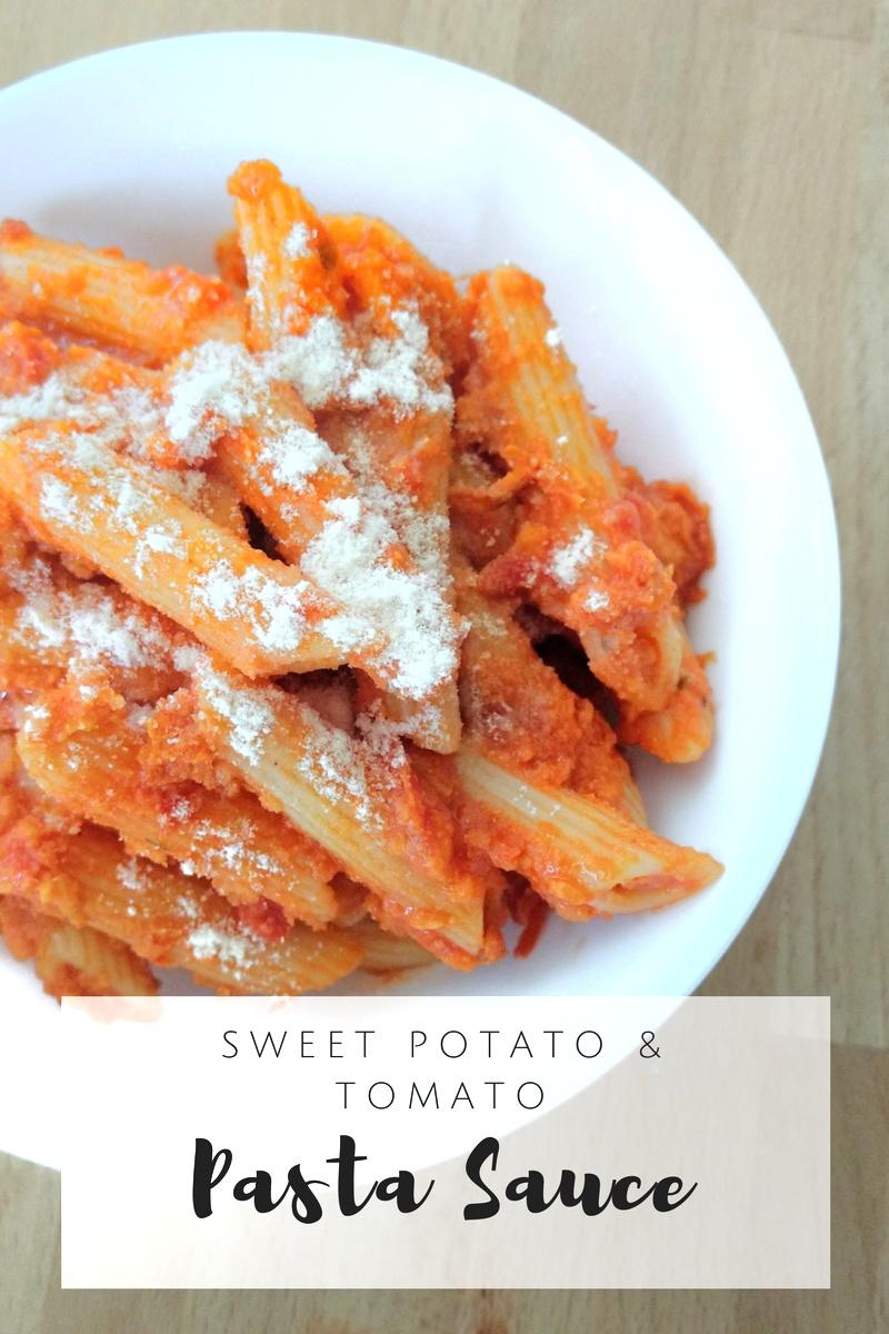 Sweet Potato & Tomato Pasta Sauce