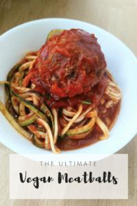 The Ultimate Vegan Meatballs {Vegan, Gluten Free}