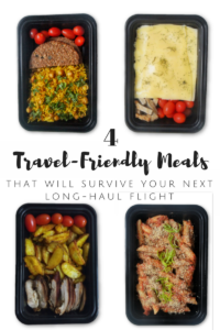4 Easy & Travel-Friendly Meals that will Survive a Long-Haul Flight