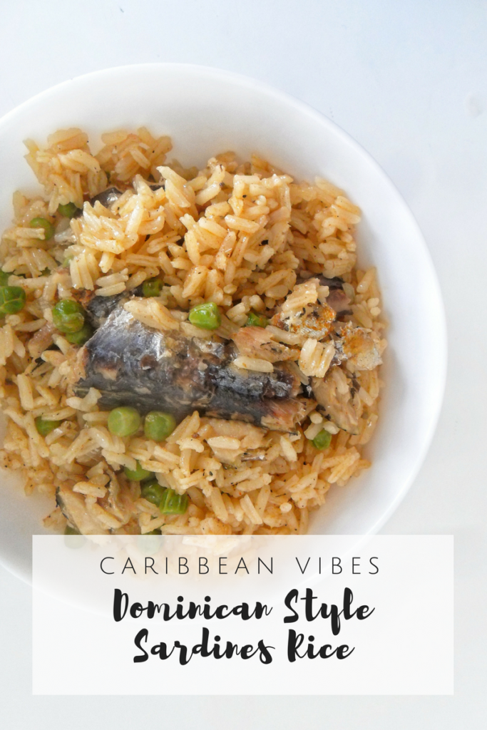 Dominican Style Spicy Rice with Sardines