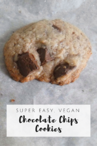 Vegan Chocolate Chunks Cookies