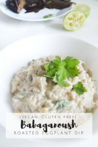 Babaganoush: Roasted Eggplants Dip {Vegan, Gluten Free}