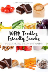 WFPB Toddler Friendly Snacks