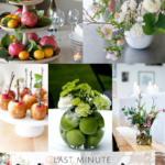 Last Minute Rosh HaShanah Centerpieces {10 easy ideas to beautify your dinner table}